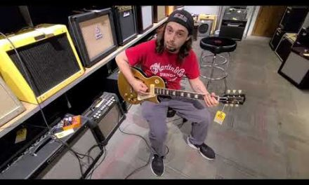 Riff With Cliff-2015 Gibson Les Paul ES Goldtop