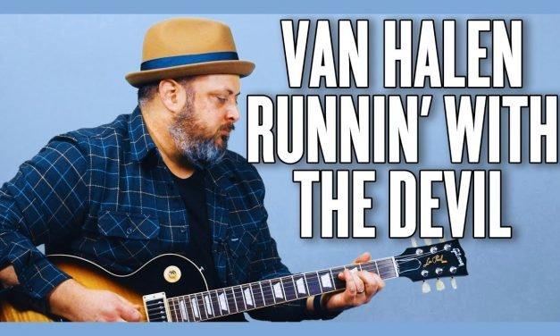 Van Halen Runnin' With The Devil Guitar Lesson + Tutorial