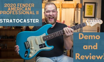 The 2020 @Fender American Professional II Stratocaster…Unboxing and Reviewing!
