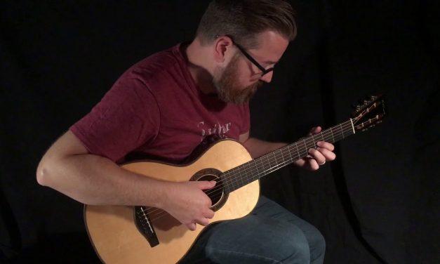 Kathy Wingert Parlor Guitar at Guitar Gallery