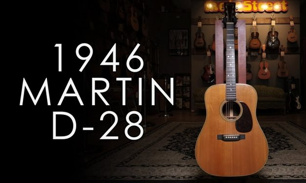 """Pick of the Day"" – 1946 Martin D-28"