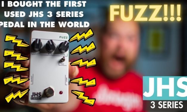 I bought the first used @JHS Pedals 3 Series Pedal in the world.