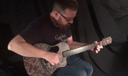 McPherson Camo Touring Guitar by Guitar Gallery