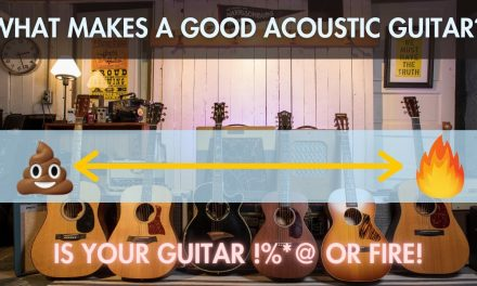 What makes a GOOD acoustic Guitar? How to tell terrible from wonderful.