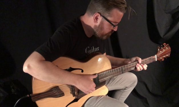 Buscarino Artisan Archtop at Guitar Gallery (SOLD)