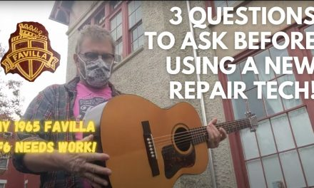3 Questions to ask your tech before they work on your guitar