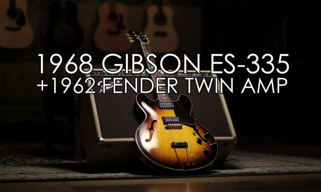 """Pick of the Day"" – 1968 Gibson ES-335 and 1962 Fender Twin Amp"