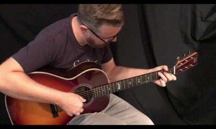 Froggy Bottom Sunburst 50th Anniversary Guitar