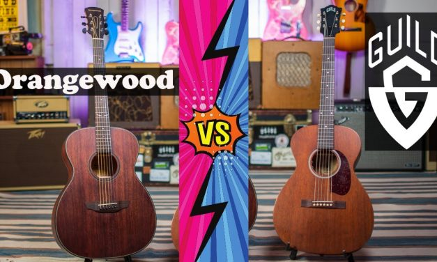 Orangewood Oliver Versus Guild M-20E! @Orangewood Guitars vs @Guild Guitars