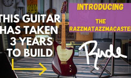 I've avoided building this guitar for 3 years…Assembling the Razzmatazzmacaster!