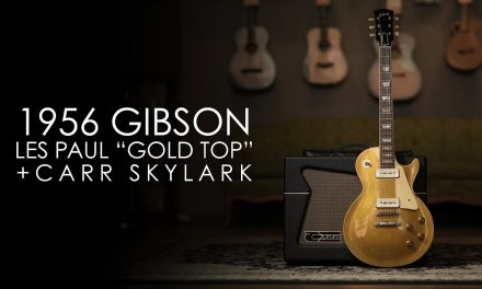 """""""Pick of the Day"""" – 1956 Gibson Les Paul Gold Top and Carr Skylark"""