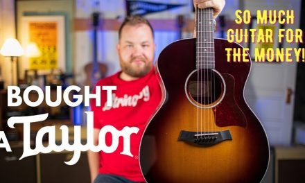 Buying a Taylor 214e Deluxe…Why @Taylor Guitars is the most compelling acoustic guitar brand