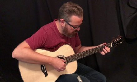 Osthoff OM Tree Mahogany Guitar by Guitar Gallery