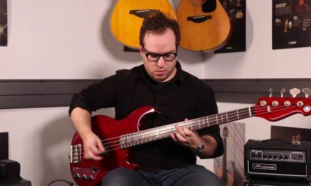 Demo: Yamaha BBPH Peter Hook Signature BB Bass!