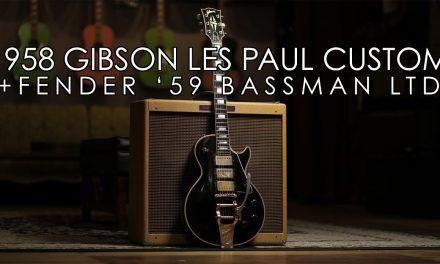 """Pick of the Day"" -1958 Gibson Les Paul Custom and Fender '59 Bassman Ltd"