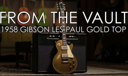 """""""From the Vault"""" – 1958 Gibson Les Paul Goldtop"""