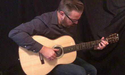Branzell 000-12 fret Guitar at Guitar Gallery