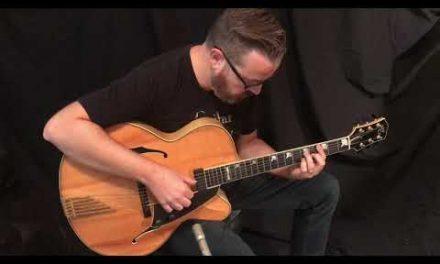 Guitar Gallery presents Santa Cruz Archtop Guitar
