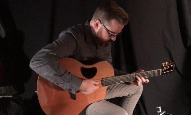 McPherson Ebony & Cedar Used Guitar at Guitar Gallery