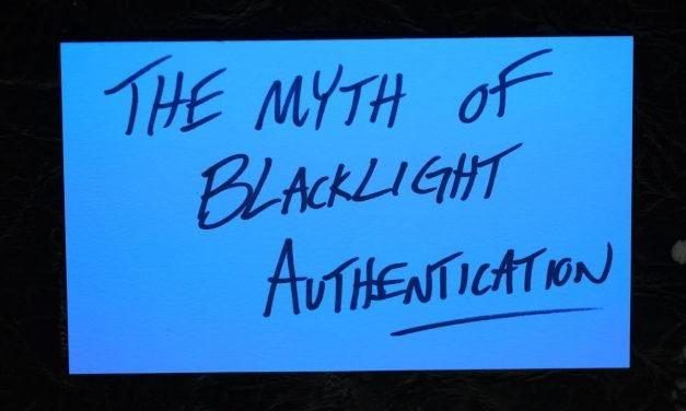 The Myth of Blacklight Authentication