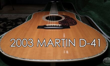 """""""Pick of the Day"""" – 2003 Martin D-41"""