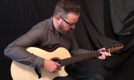 Strahm Eros Mun Ebony Guitar at Guitar Gallery