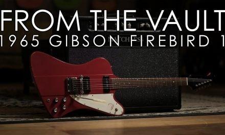 """""""From the Vault"""" – 1965 Gibson Firebird I"""