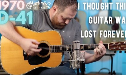 I thought this 1970 @Martin Guitar D-41 was lost forever…