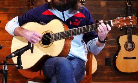 Joel Sahlstrom Small Jumbo – Adirondack Spruce & Tiger Myrtle #70