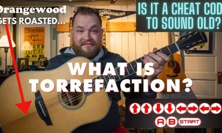 What is Torrefaction? Is it a cheat code to great sounding guitars? Featuring @Orangewood Guitars