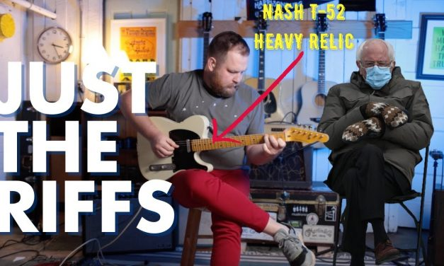 Just the riffs! Nash T-52 Mary Kaye with Lollar pickups into a 5E3 Tweed Deluxe!