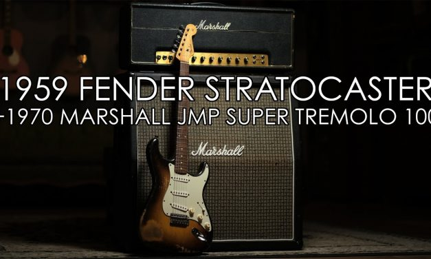 """""""Pick of the Day"""" – 1959 Fender Stratocaster and 1970 Marshall JMP 1959T"""