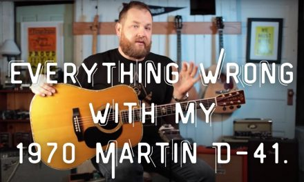 Everything Wrong with my 1970 Martin D-41