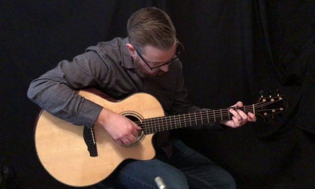 Ryan Brazilian Rosewood Nightingale Guitar at Guitar Gallery