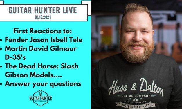 Guitar Hunter Live 01.15.2021