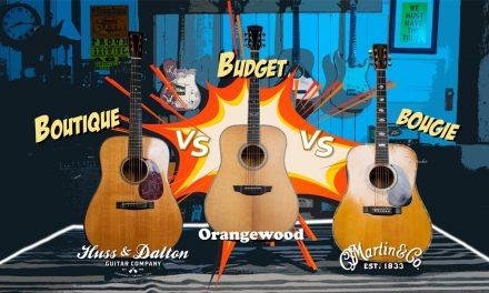 Martin D-41 VS Huss and Dalton TDM VS @Orangewood Guitars Hudson…Can you hear the difference?