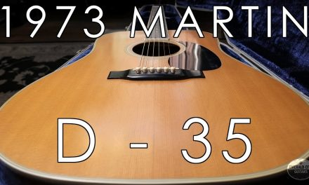 """Pick of the Day"" – 1973 Martin D-35"