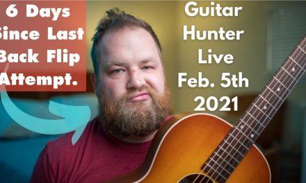 Guitar Hunter Live I Feb. 5th, 2021 I @Reverb did it again