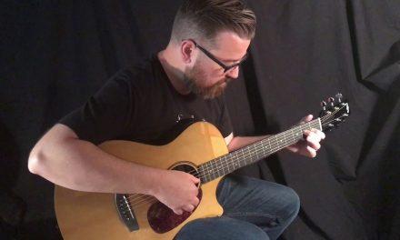 RainSong V-OM1000NSX Guitar at Guitar Gallery