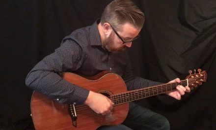 Petros Tunnel 13 Redwood Top Guitar at Guitar Gallery