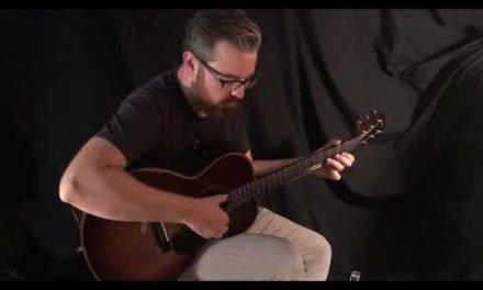 Kim Walker Sunburst Guitar by Guitar Gallery