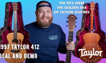 Buying a 1998 @Taylor Guitars 412.  The late 90's were the GOLDEN era of Taylor Guitars