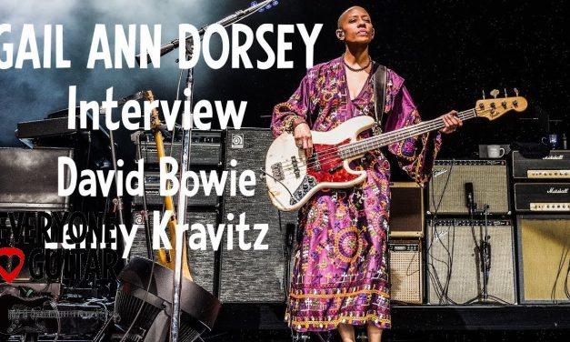 "Gail Ann Dorsey Interview: David Bowie 21 yrs, Lenny Kravitz ""It wasn't fun, but it changed my life"""