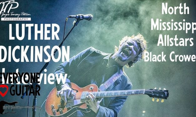 """Luther Dickinson Interview, North Mississippi Allstars, Black Crowes  """"Misery sticks to the tape…"""""""