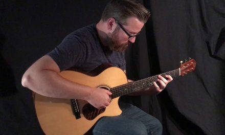 Bruce Sexauer Sapele Guitar at Guitar Gallery