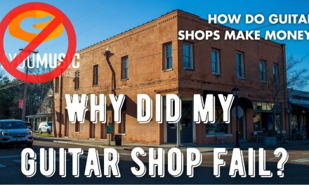 Why did my guitar shop close?