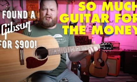 So much guitar for the money I Buying a Gibson J-15 for only $900