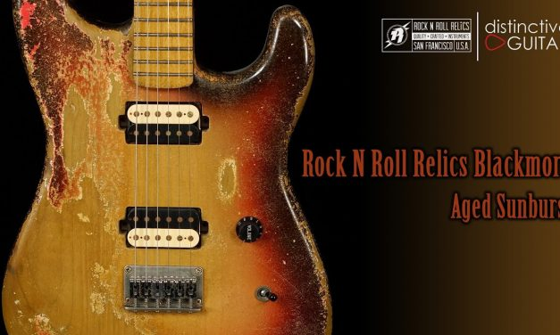 Rock N Roll Relics Blackmore HH Hardtail | Aged Sunburst