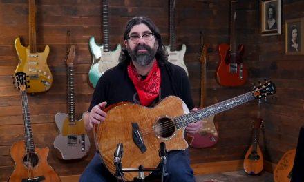 Eddie's Guitars 50th Anniversary Taylor Custom Koa GC & GA