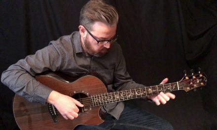 Kevin Ryan Art Deco Tree of Life Guitar at Guitar Gallery